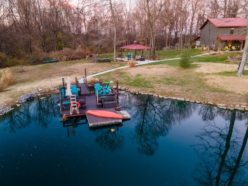 748-S-Barn-Ln-the dock drone shot